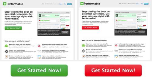 Primjer A/B testiranja web stranice s pozitivnim rezultatom