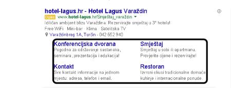 Proširenja veza na web lokacije