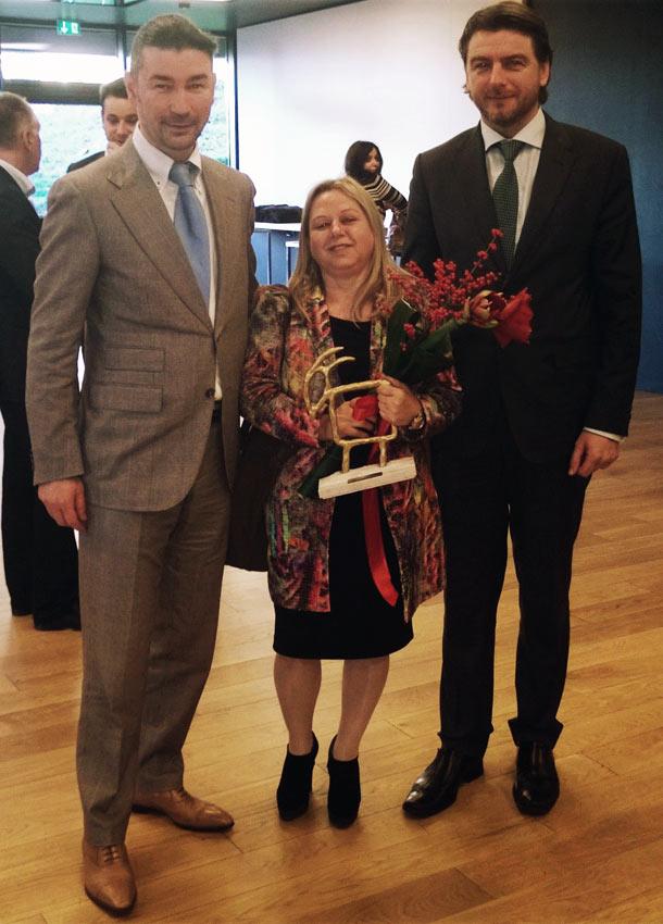 Katharina Goeschl sa ministrom Turizma i direktorom Turističke zajednice Istarske županije
