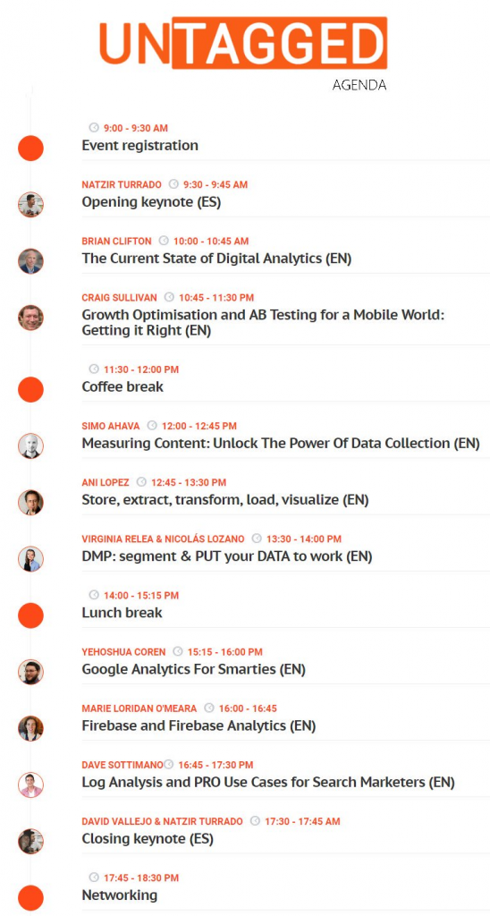Agenda Untagged konferencije