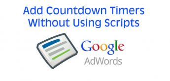 AdWords countdown oglasi - naslovna
