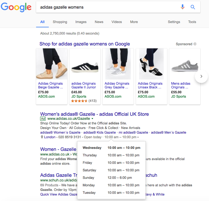 Google shopping oglasi