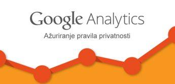 Google Analytics - Pravila privatnosti