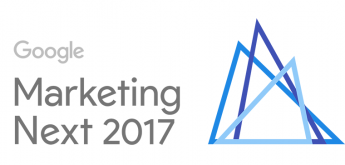 Google Marketing Next 2017 - Naslovna