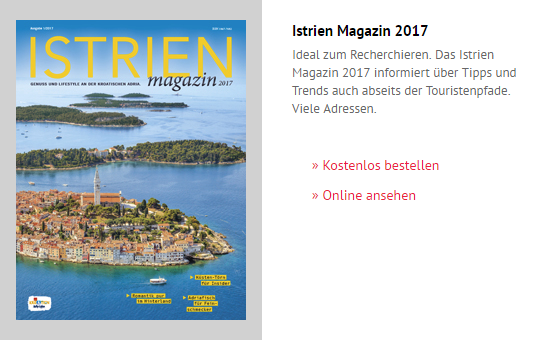 Istrien Magazin 2018.