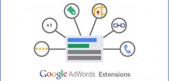 Google Ads ekstenzije