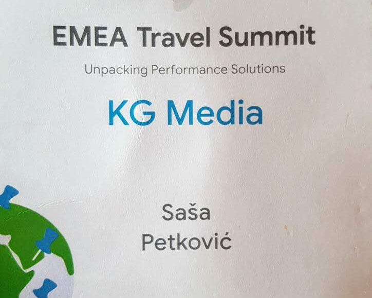 EMEA Travel Summit pass