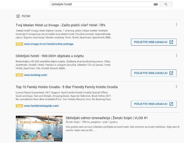 Google je omogućio prikaz tekstualnih oglasa na YouTubeu