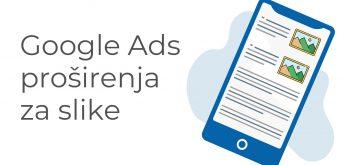 Google Ads proširenja za slike